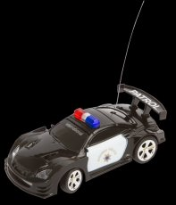 "RC Police Mini Racer ""Black & White"""