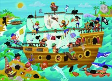 Puzzel Magie Pirate Ship 50St