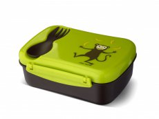 Carl Oskar N ice Box Kids lunch box with cooling pack - lime