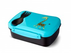Carl Oskar N ice Box Kids lunch box with cooling pack - turquoise