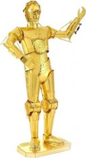 Metal Earth C-3PO Gold