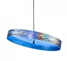 Acrobat Spin & Fly Juggling Frisbee - Blauw