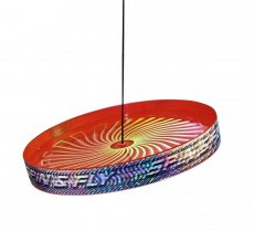 Acrobat Spin & Fly Juggling Frisbee - Rood