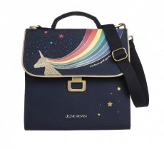 Handtas Lunch bag Unicorn (Eenhoorn) Gold - Jeune Premier