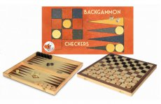 Dam en Backgammon