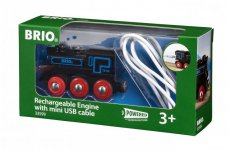 Oplaadbare locomotief met mini USB- kabel