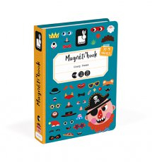 Magneti'Book Crazy Faces Jongen