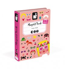 Magneti'Book Crazy Faces Meisje